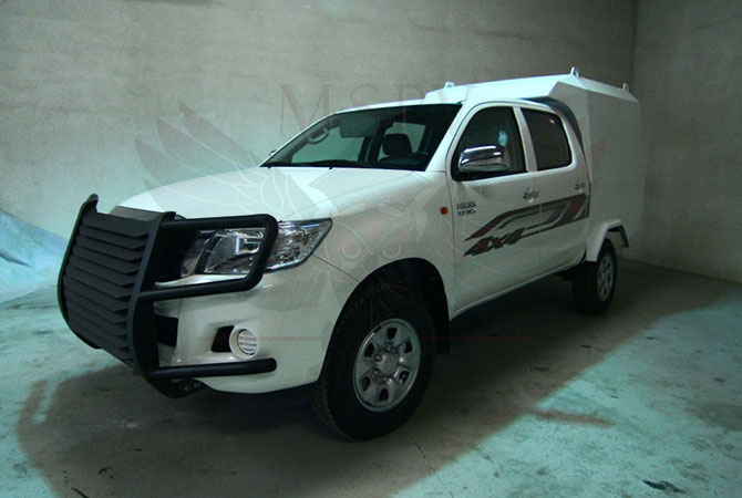 Armoured CIT Vehicle Swaziland - Toyota Hilux