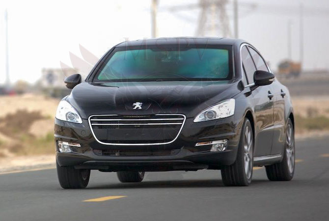 Armoured Cars Swaziland - Peugeot 508