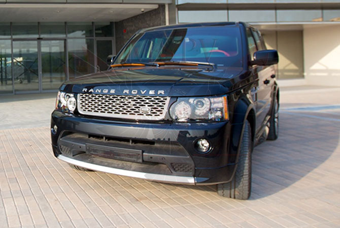 Armoured SUV Swaziland - Range Rover Sport