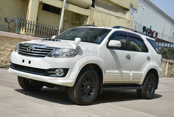 Armoured SUV Swaziland - Toyota Fortuner