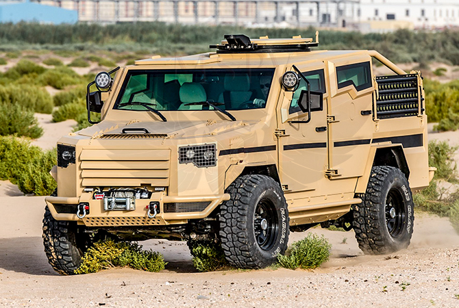 Armoured Patrol Vehicles Swaziland - Panthera T2V8