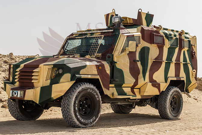 Armoured Personnel Carrier Swaziland - panthera-t6-3dr