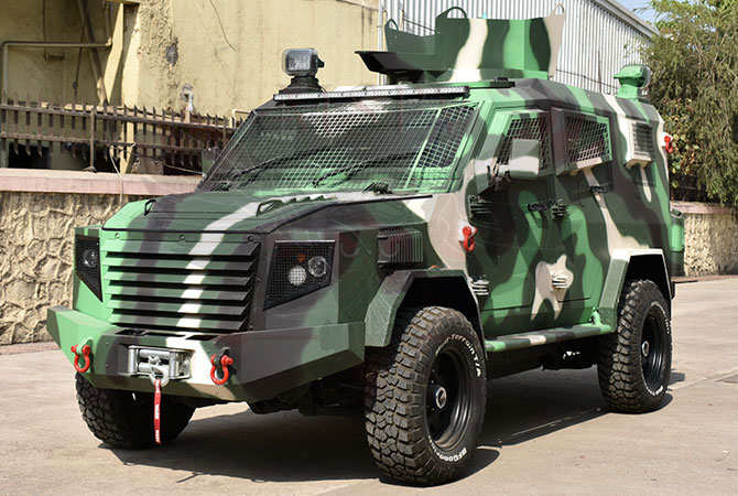 Armoured Personnel Carrier Swaziland - Panthera T6F