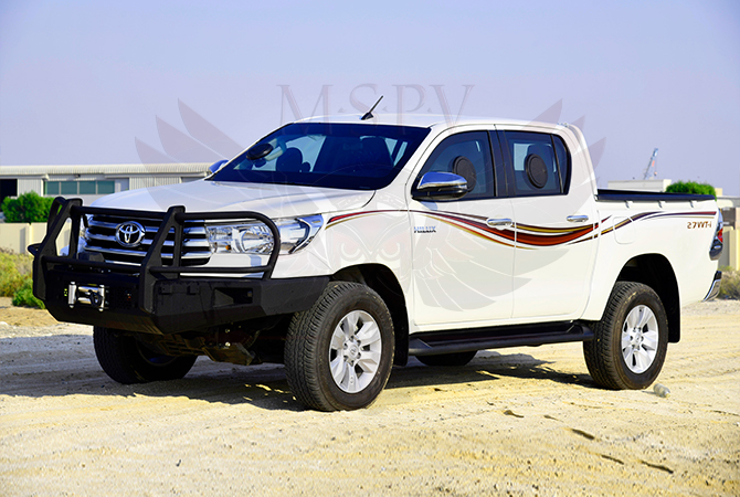 Armoured Pickup Swaziland - Toyota Hilux