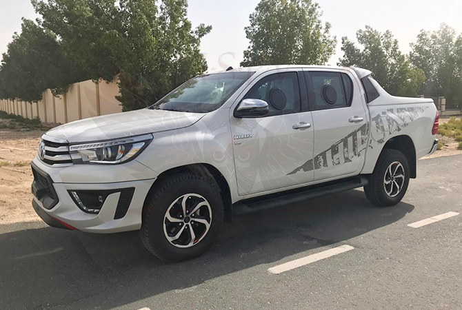 Armoured Pickup Swaziland - Toyota Hilux 2019 TRD