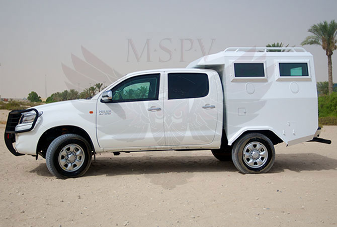 Armoured Troop Carrier Swaziland - Toyota Hilux