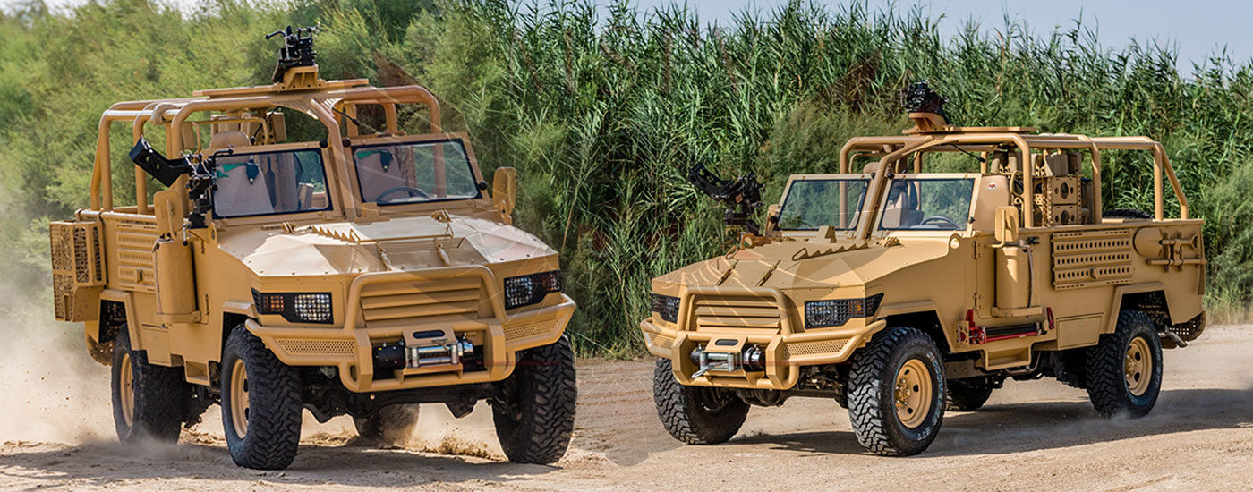 Armoured Light Patrol Vehicles Swaziland - LPV-T MKII