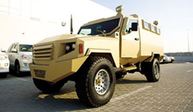 Armoured Miliatry Vehicle Swaziland